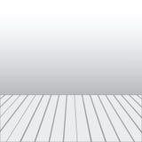 Leeg een wit Binnenland van ruimte zonder plafond Royalty-vrije Illustratie