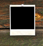 Leeg fotoframe Stock Afbeelding