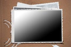 Leeg fotoframe Stock Foto's