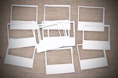 Leeg fotoframe Stock Afbeeldingen