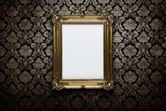Leeg frame bij de muur royalty-vrije stock fotografie