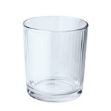 Leeg glas Stock Afbeelding