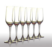 Leeg glas. Royalty-vrije Stock Foto's