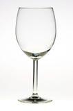 Leeg glas wijn Royalty-vrije Stock Afbeelding
