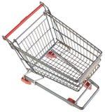 Leeg het Winkelen Karretjeknipsel Stock Fotografie