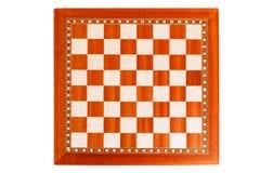 Leeg houten schaakbord Stock Foto