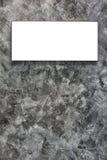Leeg kader op concrete muur Royalty-vrije Stock Foto's