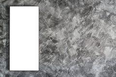 Leeg kader op concrete muur Royalty-vrije Stock Fotografie