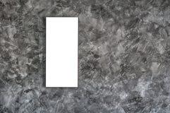 Leeg kader op concrete muur Stock Foto's