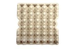 Leeg karton voor eieren Royalty-vrije Stock Afbeelding