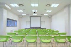 Leeg klaslokaal Stock Foto