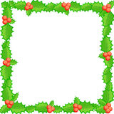 Leeg malplaatje voor de groetenkaart van Kerstmis Royalty-vrije Stock Afbeelding