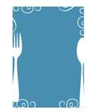 Leeg menu Stock Foto