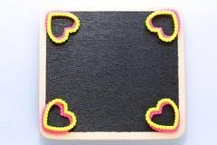 Leeg minibord Stock Foto's
