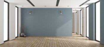 Leeg minimalistisch binnenland Royalty-vrije Stock Foto's