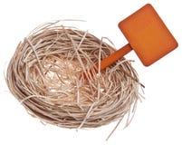 Leeg Nest Royalty-vrije Stock Foto
