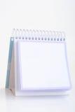 Leeg notaboek stock afbeeldingen