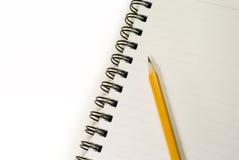 Leeg notitieboekje Stock Afbeeldingen