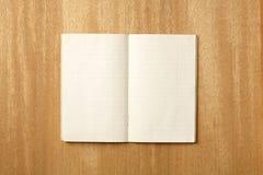 Leeg notitieboekje royalty-vrije stock afbeelding