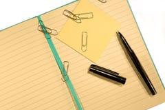 Leeg notitieboekje Royalty-vrije Stock Afbeeldingen