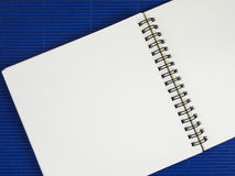 Leeg notitieboekje 12 Stock Afbeelding