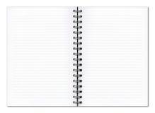 Leeg ontwerpersboek Royalty-vrije Stock Afbeeldingen
