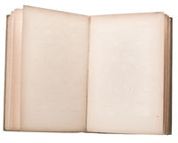 Leeg open boek stock foto