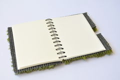 Leeg Open Boek Royalty-vrije Stock Afbeeldingen