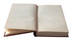 Leeg Open Boek Royalty-vrije Stock Fotografie
