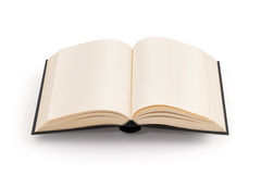 Leeg open boek - het knippen weg Stock Fotografie