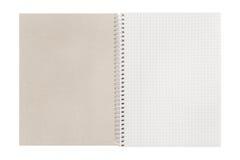 Leeg open gecontroleerd boek royalty-vrije stock foto's