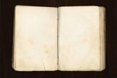 Leeg oud boek Stock Fotografie