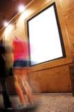 Leeg paneel Royalty-vrije Stock Foto