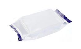 Leeg plastic pak Stock Fotografie