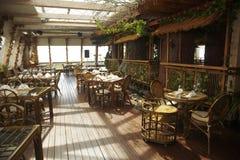 Leeg restaurant Royalty-vrije Stock Foto