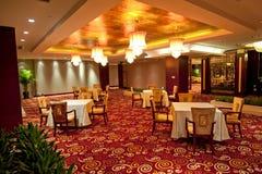Leeg restaurant Royalty-vrije Stock Afbeeldingen
