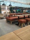 Leeg restaurant Stock Foto