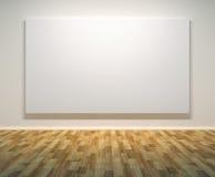 Leeg schilderijenframe op de muur Stock Afbeelding