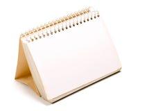 Leeg spiraalvormig notitieboekje 2 royalty-vrije stock foto's