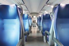 Leeg spoorwegvervoer Royalty-vrije Stock Afbeelding