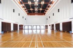 Leeg sportenhof Royalty-vrije Stock Foto's