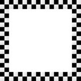 Leeg squarish geruit kader, grens vector illustratie