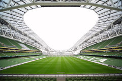 Leeg stadion Aviva Royalty-vrije Stock Fotografie