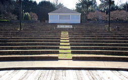 Leeg Stadium Royalty-vrije Stock Afbeelding