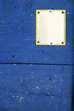 Leeg straatteken Stock Foto