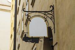 Leeg straatteken Stock Fotografie