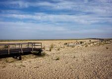 Leeg strand Royalty-vrije Stock Afbeeldingen