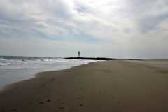 Leeg strand Stock Foto