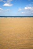 Leeg strand met tekstruimte. Royalty-vrije Stock Foto's