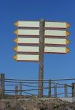 Leeg teken Royalty-vrije Stock Afbeeldingen